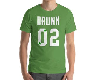 Drunk 02 - St. Patrick's Day - St Patricks Day tee - St Patricks outfit - Dog shirt - St Patricks clothes - Irish shirt