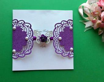 Handmade Personalised Luxury Mum Birthday Card, Greeting Card, Sister Birthday Card, Wife Birthday Card, Personalised Age Birthday Card C133