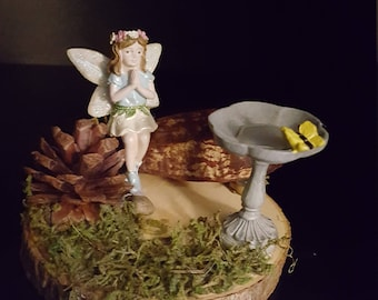 fairy with a butterfly