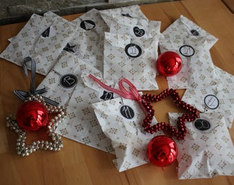 "Jewelry Advent Calendar ""small"" fashion jewelry necklaces, earrings, bracelet etc."