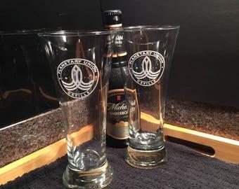 The Orville Pilsner Beer Glasses - The Orville - Planetary Union - Flared Pilsner Glasses - Gift Idea