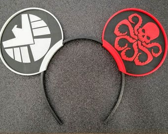 Shield and Hydra Two Color Ears