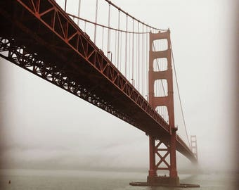 Golden Gate Bridge San Francisco Photograph
