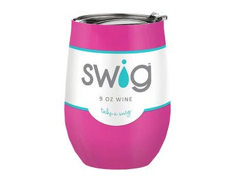 Swig Insulated Wine Cup - Berry