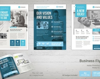 Business Flyer | InDesign Template