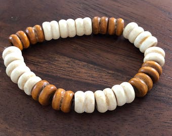 Ash wood bracelet