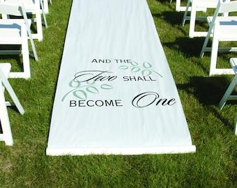 Fabric Aisle Runner Etsy