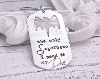 Superhero dog tag | Etsy