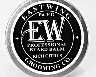 Professional Beard Balm in Rich Citrus aroma. Free UK Shipping & free gift bag