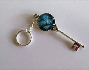 Original Acrylic Skin Keychain