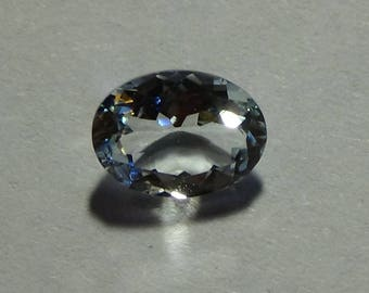 1.00 ct Oval Cut Aquamarine