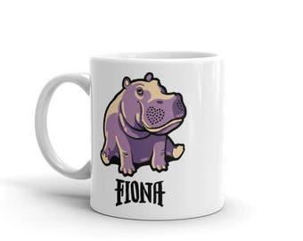 Fiona The Hippo #TeamFiona, Cute Baby Hippo Mug
