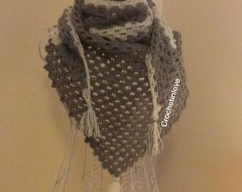 Baktus, crochet Shawl