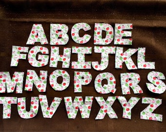 Learning letters, fabric alphabet, fabric letters, montessori alphabet, fabric alphabet letters, toddler alphabet, sight word practice,