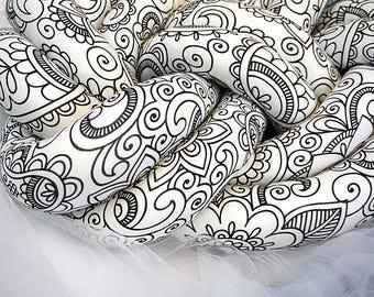 keltische knoten kissen etsy. Black Bedroom Furniture Sets. Home Design Ideas