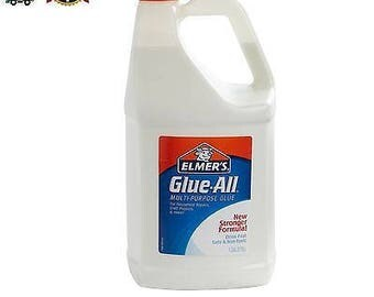 Elmer's white GALLON glue ALL for school or slime FAST shipping