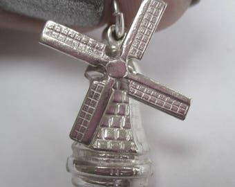 Sterling Silver Charm - Windmill
