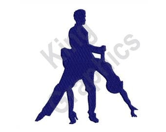 Dancing - Machine Embroidery Design, Tango, Dancers