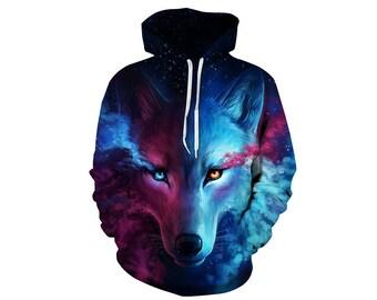 Wolf Hoodie, Wolf, Wolf Hoodies, Animal Prints, Animal Hoodie, Animal Hoodies, Wolves, Hoodie Wolf, Hoodie, 3d Hoodie, 3d Hoodies - Style 1