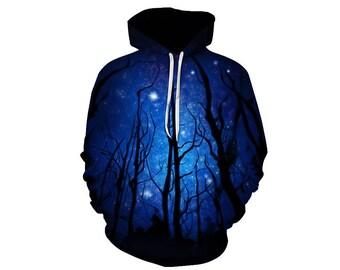 Galaxy Hoodie, Galaxy Sweatshirt, Galaxy, Galaxy Jumper, Galaxy Hoodies, Space, Space Hoodie, 3d Hoodie, 3d Hoodies, Hoodie - Style 50