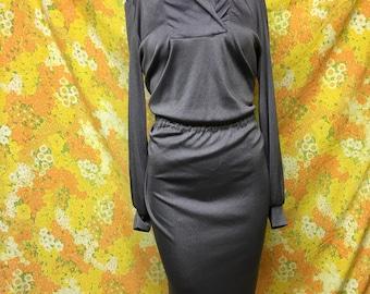 Vintage Grayish Purple Disco Dress