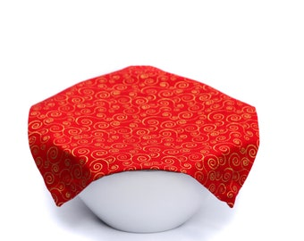 Weighted FOOD COVER, 100% Reusable. Bowl Covers. Eco-friendly. Dish Covers