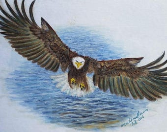 American Eagle painting