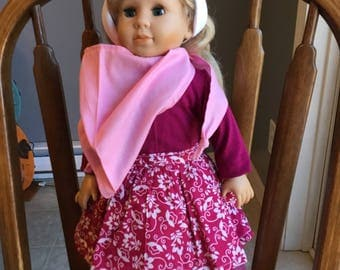 """Outfit for 18"""" doll such as American girl"""