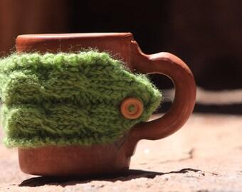 Coffee Cozy, Tea Cozy, Cup Cozy, Mug Cozy, Coffee Sleeve, Coffee Cup Sleeve, Coffee Cup Cozy, Coffee Mug Cozy, Vegan yarn