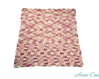 Crocheted Baby Blanket and Headband