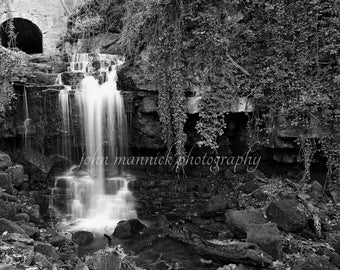 WENSLEY FALLS (8x6 print in 10x8 card mount, sealed)