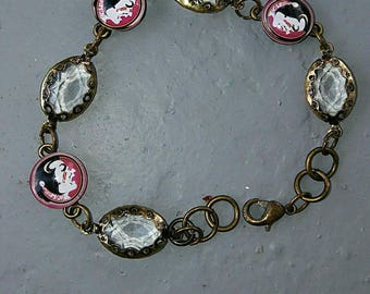 Florida State University bracelet FSU Game Day Jewelry Noles gifts Florida Seminoles gift