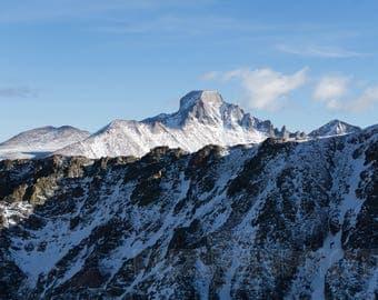 Longs Peak Colorado Wall Art