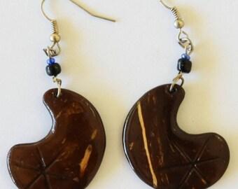 Afrix Wooden Earrings