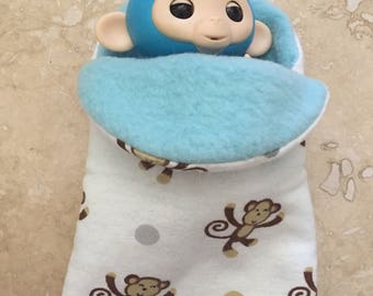 Fingerlings finger Monkey sleeping bag accessory for fingerling