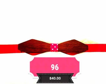 Ibowtied, wooden bow tie, by IBowTied