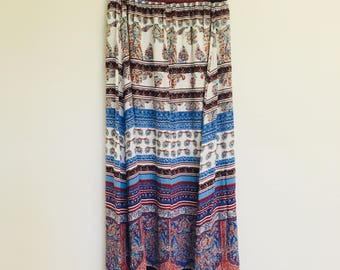 Boho Indie-style Pattern // Maxi Skirt
