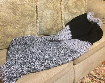 Super Soft and Plush Crocheted Throw/Afghan