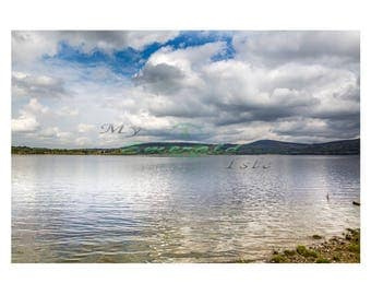 The Blessington Lakes, Wicklow.