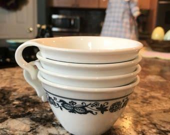 Corelle Old Town Blue tea cups