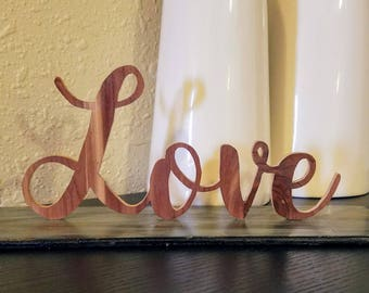 Love Signs - 4 Different Styles