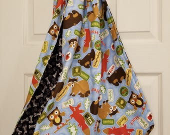 Forest Friends Reversible Sling Carrier for Dogs