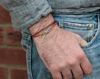 Infinity bracelet a Best friend bracelet Femme bracelet Homme bracelet give a mindfulness gift handmade with love available in 6 colours