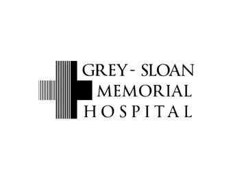 Grey's Anatomy TV Show, Grey Sloan Memorial Hospital Black & White SVG PNG, Cut Files, Svg Files, Cricut Files, vector Files
