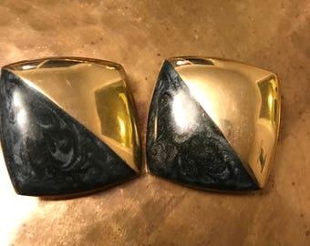 Alexis Kirk clip on earrings