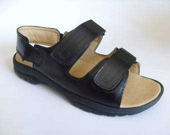 Men's handmade sandals in genuine leather