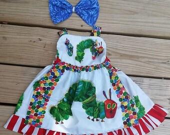 Caterpillar dress #2