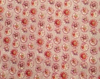 Kathy Davis Free Spirit Wildflower Dewdrops PWKD051 100% cotton Mulberry