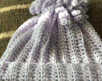Crochet girls hat