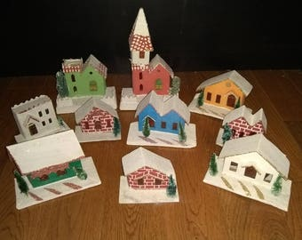 Miniature Christmas Houses